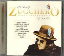 "ZUCCHERO - RARO CD IN INGLESE "" GREATEST HITS """