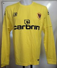 BLACKPOOL 2009/10 YELLOW KEEPERS SHIRT BY CARBRINI ADULTS SIZE SMALL BRAND NEW