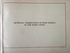 Artificial Insemination of Farm Animals in the Soviet Union 1948 USSR Ag Dept