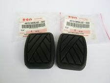 OEM SUZUKI SJ410 SJ413 SAMURAI SIERRA CARIBIAN CLUTCH AND BRAKE PEDAL PAD NEW x2
