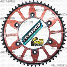 Apico Xtreme Red Black Rear Alloy Steel Sprocket 53T For Honda CR 125 1991 MotoX
