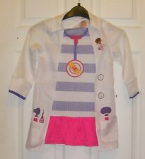 Girl's Dress Up Disney's Doc McStuffins Costume age 3-4 years
