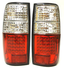 Toyota Land Cruiser HDJ 80 Rear Tail Signal Lights Lamp Set Left+Right Led white