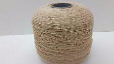 Wolle Garn Stricken & häkeln   Kone 100% baumwolle  beige 1kg/Nm 7/1 Cotton bw05