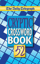 The Daily Telegraph Cryptic Crossword Book 52 BRAND NEW BOOK