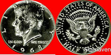 1968 S Kennedy Half Dollar Gem Proof