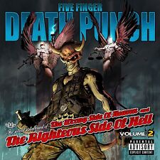 FIVE FINGER DEATH PUNCH CD - WRONG SIDE OF HEAVEN...VOL.2 [EXPLICIT](2013) NEW