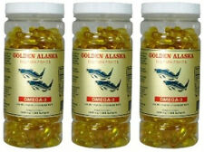 3 x 200 Softgel Alaska Deep Sea Fish Oil Omega 3 DHA/EPA 1000 mg FRESH FAST SHIP