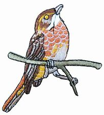 "#4315 3"" Bird Embroidery Iron On Appliqué Patch"
