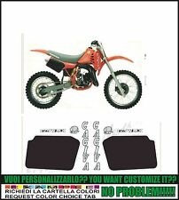 kit adesivi stickers compatibili  wmx 125 1985