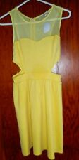 CHARLOTTE RUSSE NEW WITH TAGS YELLOW SUN DRESS SIZE SMALL