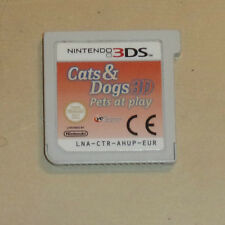 NINTENDO 2DS N2DS 3DS N3DS GAME CARTRIDGE ONLY CATS & DOGS 3D PETS AT PLAY GWO