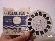1951 View Master Reel Life With The Cowboys