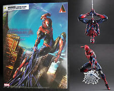 "PLAY ARTS KAI Marvel Universe VARIANT Spider-man 10"" ACTION FIGURE"