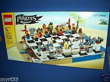 40158 Pirates Lego Chess Set New NIB (857 pcs)
