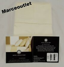 Hotel Collection 600 Thread Count Egyptian Cotton STANDARD Pillowcases Ivory