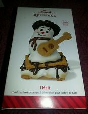 2014 Hallmark Ornament I Melt plays the song I Melt by RASCAL FLATTS!