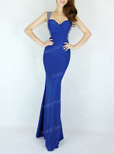 Sexy Celeb Long Mermaid Formal Evening Party Prom Bridesmaids Wedding Maxi Dress