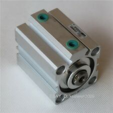 SDA 40x40 Pneumatic Compact Thin Air Cylinder 40mm Bore 40mm Stroke Double Actio