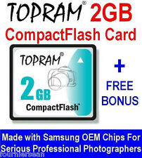 2 GB GIG COMPACT FLASH CF CARD UPGRADE ROLAND EDIROL R-1 RECORDER NEW FREE CD S6