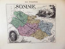 LA FRANCE ET SES COLONIES DÉPARTEMENT DE LA SOMME EDT 1874 VOIR DETAIL