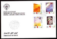 Kuwait 1994 FDC Mi.1372/75 Freimarken Definitives | Martyrdom Sand [kf024]