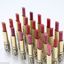 12 Colors Cosmetic Makeup Bright Leopard Lipstick Lip Gloss Long Lasting Set MW