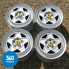 GENUINE FERRARI MONDIAL 180 TR 390 TRX QV 3.0 8 ALLOY WHEELS 188147