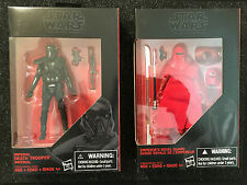 Star Wars Rogue One Black Series Death Trooper & Emperor's Royal Guard Lot 3.75""