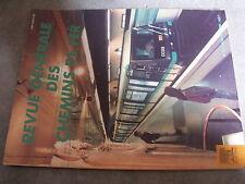 $$m RGCF Chemin de Fer N°12/99 rénovation ligne grande vitesse Paris Sud-Est