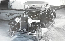 """12 By 18"""" Black & White Picture 1931 Chevrolet Roadster"""