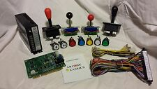 60-1 Kit includes Game bd Joystick LedButtons Power Supply Jamma Wiring Harness