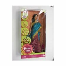 Barbie in India in New Look, New Brocade & Silk Sari, Barbie Doll Collectible RG
