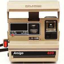 Polaroid Amigo 620 Instant Camera 600 Film Made in USA 1980s Fully Operational