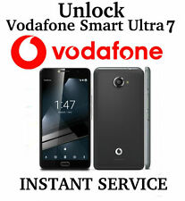 UNLOCK CODE VODAFONE SMART ULTRA 7 VFD-700 V700 VFD700 UK IRELAND PORTUGAL ETC