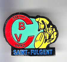 RARE PINS PIN'S .. VELO CYCLISME CYCLING CLUB TEAM CBV  SAINT FULGENT 85 ~CP