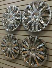 "NEW VW 2010-2014 Golf 15"" Hubcap Wheelcovers SET of 4 CHROME AM"