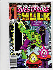 QUESTPROBE FEATURING THE HULK #1 BILL MANTLO MARK GRUENWALD JOHN ROMITA