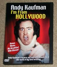 Andy Kaufman I'm From Hollywood / My Breakfast With Blassie DVD