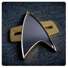 Star Trek VOYAGER DS9 Official Starfleet COMMUNICATOR Badge Pin PROP REPLICA