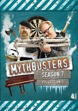 Mythbusters : Season 7 : Collection 1 (DVD, 2012, 4-Disc Set) - BRAND NEW!!