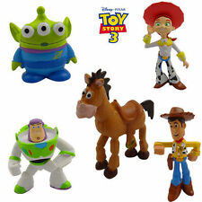 TOY STORY (WOODY JESSIE BUZZ LIGHTYEAR BULLSEYE) ACTION FIGURE CAKE TOPPER DECOR