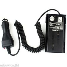 Car Radio Battery Eliminator +Charger Adaptor For Kenwood TK-3107/2107 TK378 HOT