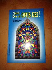 ☀️ NEW ¿Que Es El OPUS DEI? Book Spanish Antonio Vera Ramirez Dios Español Spain