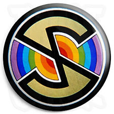 Captain Scarlet Spectrum Logo - 25mm Button Pin Badge - Retro Kids TV Program
