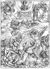 The Four Avenging Angels by Albrecht Dürer Print