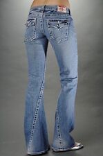 True Religion Disco Joey Big T Jeans Twisted Flare Size 27