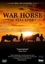 DVD:WAR HORSE - THE REAL STORY - AS SEEN ON CHANNEL 4  - NEW Region 2 UK