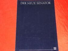 OPEL Senator B Vorab Prospekt von 1987