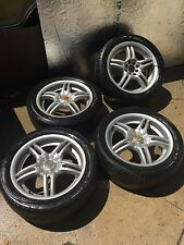 "Motegi FF5 set of 4 17"" x 7"" inch. wheels $500"